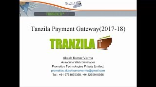 Tranzila Payment Gateway Integration 2017 php, Laravel 5.4 , 5.5   By Akash Verma Part 3