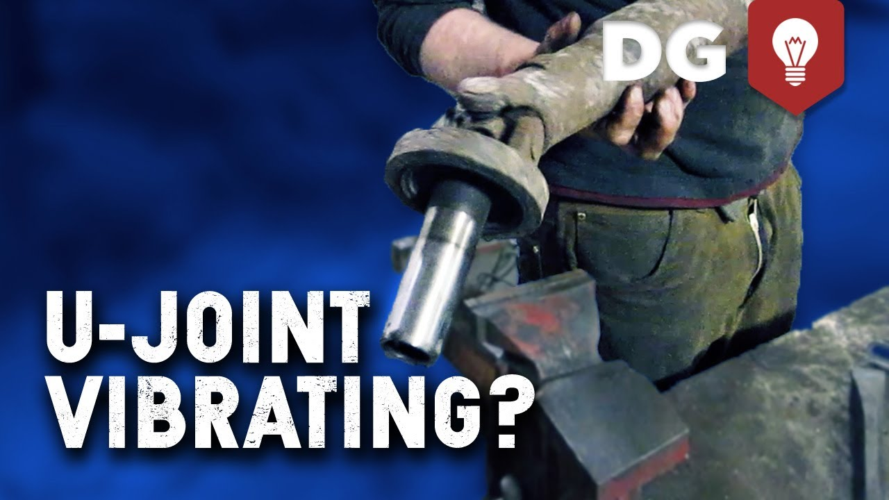 How to replace a u joint