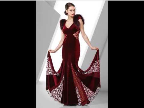 baab835c9 فساتين سهره فخمة و راقيه 2015 - Evening Dresses - YouTube