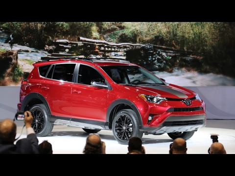 2018 Toyota Rav4 Redesign Chicago Auto Show Youtube