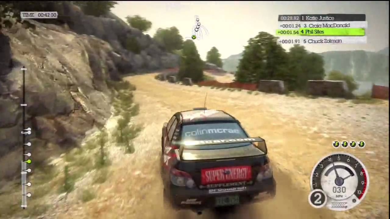 dirt 2 ps3 gameplay early career point to point rally. Black Bedroom Furniture Sets. Home Design Ideas