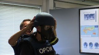 EXCLUSIVE: Inside the lab ridding the world of chemical arms