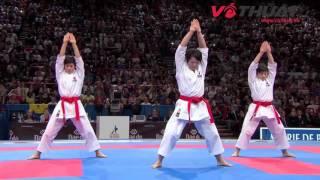 Bài quyền Kata 'siêu đỉnh' vô địch giải Karate thế giới