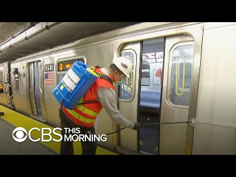 NYC shuts down entire subway system for coronavirus-linked cleaning