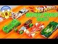 Hot Wheels Mystery Models Series 2 vs Series 1 Race Cars 6 Lane Speedway Track