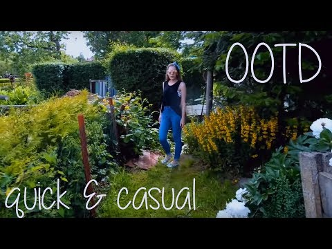OOTD : quick & casual (komplettes Outfit unter 30€)