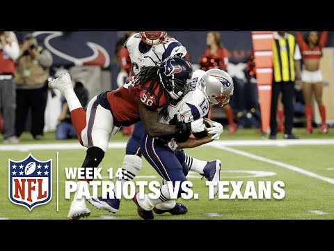 Jadeveon Clowney Beats Double Team to Sack Tom Brady | Patriots vs. Texans | NFL