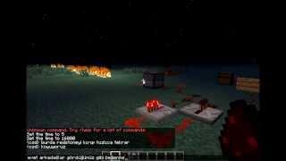 minecraft yanıp sönen redstone yapımı