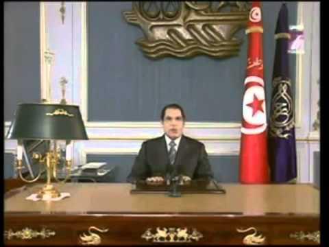 1er discours de Zine el-Abidine Ben Ali le 28 décembre 2010