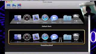 How to skin your dock on mac OSX