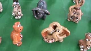 Статуэтки из глинны, керамические сувениры