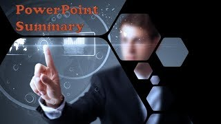How to create an amazing PowerPoint summary just in 1 minute?
