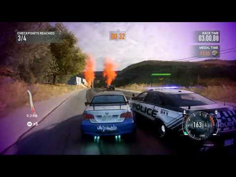 NFS The Run Most Wanted Challenge Series part 1/2