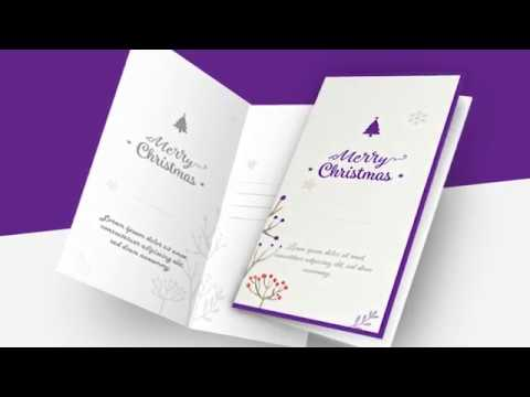Editable Customizable Printable Christmas Card Templates YouTube - Printable christmas cards templates
