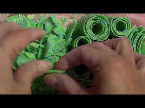 ASMR: My Beautiful Recycle Green Lux Soap