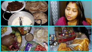 Bipadtarini puja | family vlog with recipes | Indian Blogger Swarnali