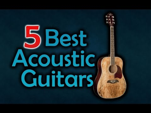 5 Best Acoustic Guitars - For Beginners & Professionals!