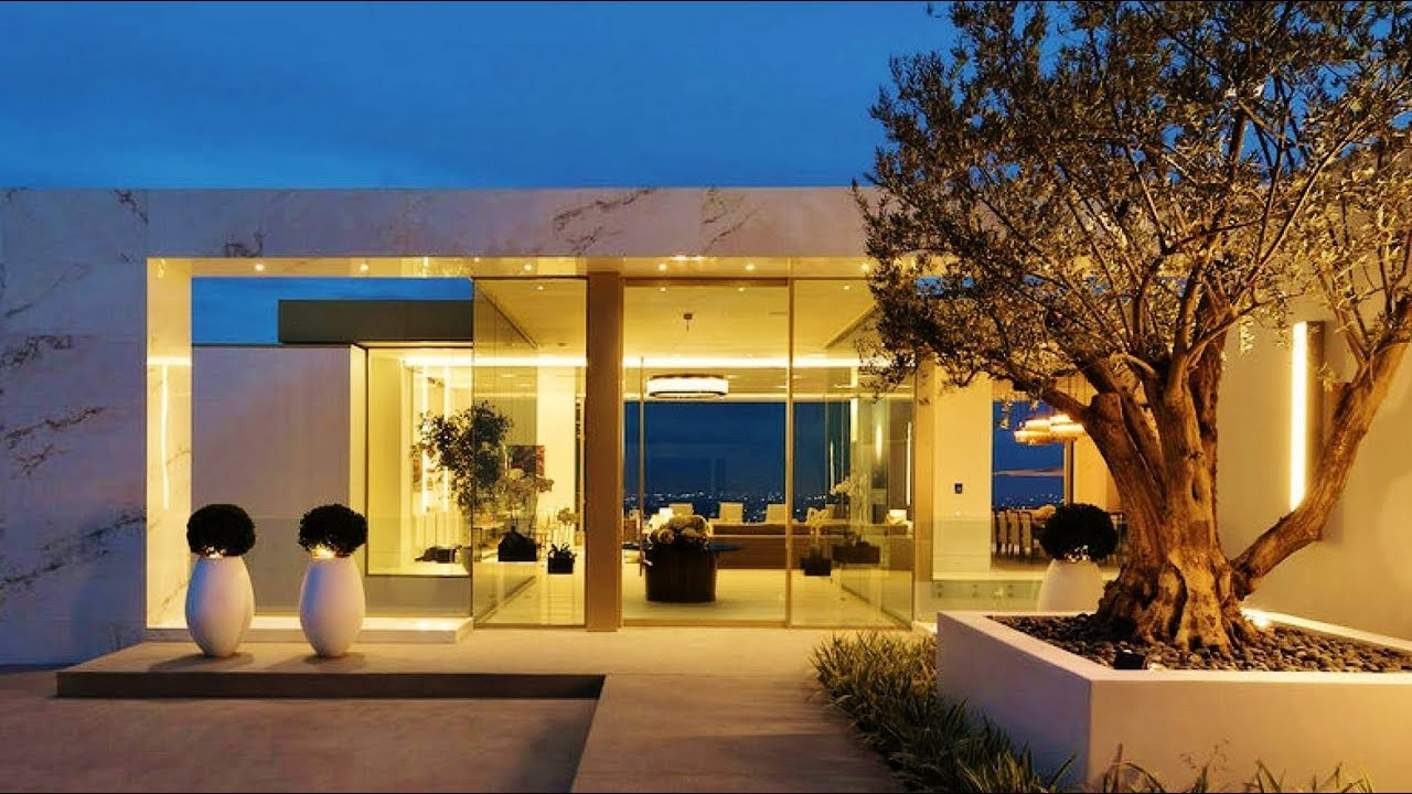 New Contemporary Home Harwich: 2017 Exclusive Beverly Hills' Most Expensive Modern