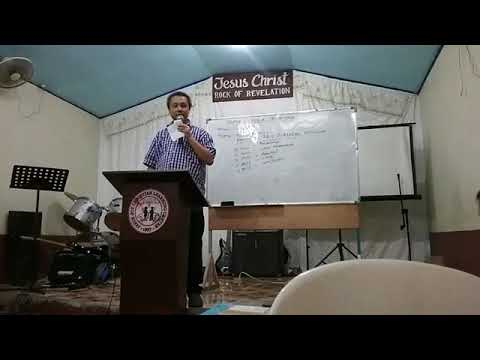 Debate between bro Melchor Manalili(CFD)(RCC) VS. bro Luis simon(Christian reform)