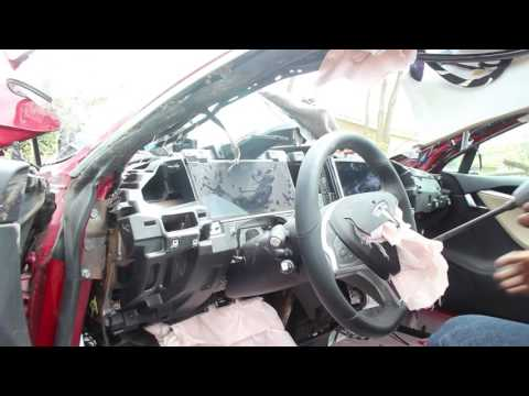 Tesla Vlog:  Tear down Week: Day 3: Ripping it out!