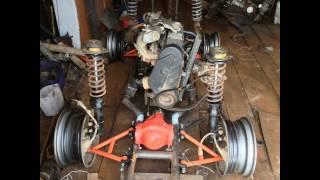 Постройка самодельного квадроцикл ваз 2109 4х4 №2