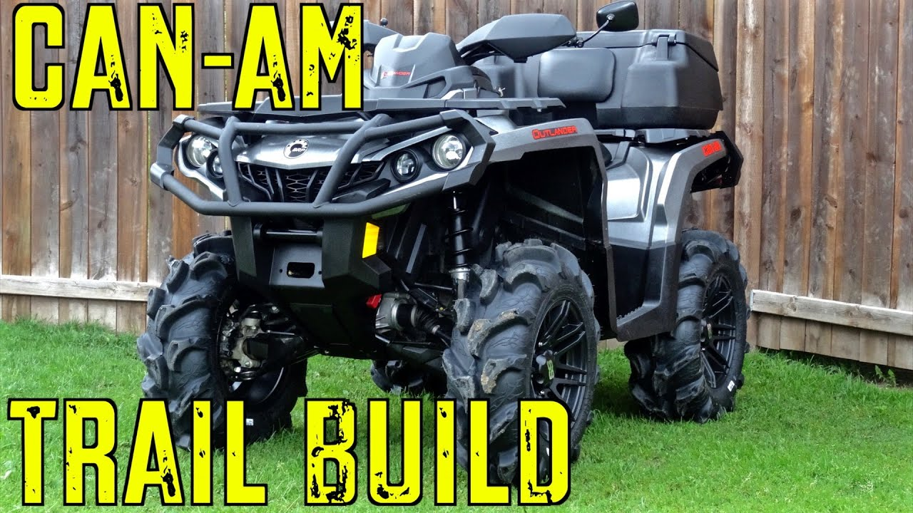 2017 Can Am Outlander Xt 1000 Trail Build Intro