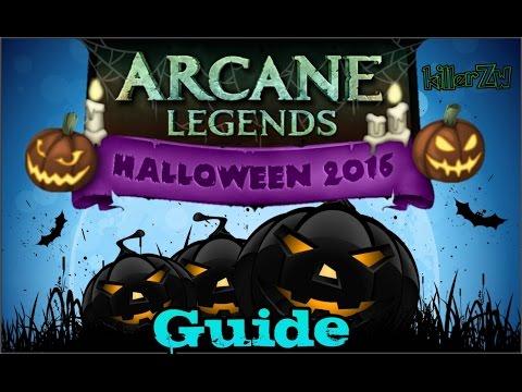 Arcane Legends - Halloween Event 2016 [Guide]