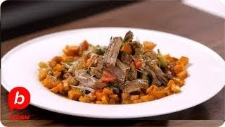 How To Make Slow Cooker Beef Stew (carne Guisada) | That's Fresh With Helen Cavallo | Babble