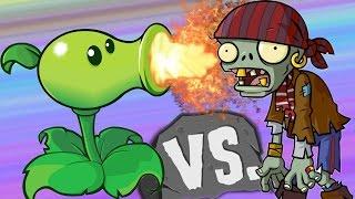 РАСТЕНИЯ ПРОТИВ ЗОМБИ игра мультик про зомби против растения. Plants vs  Zombies game cartoon