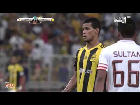 "MBC PRO SPORTS -هدف الاتحاد الثاني في مرمي الشباب ""ريفاس "" ركلة جزاء"