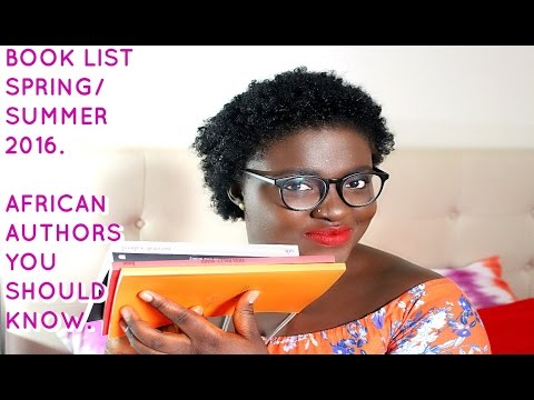 CSC#4: SPRING/SUMMER BOOK LIST (AFRICAN AUTHORS)