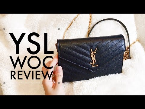 13a7ef90 YSL Monogram Envelope Wallet on Chain REVIEW
