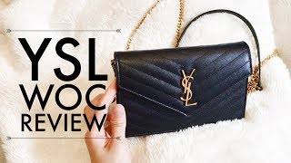 c814f7a01 YSL Monogram Envelope Wallet on Chain REVIEW - With Loop Control - YouTube  for Musicians