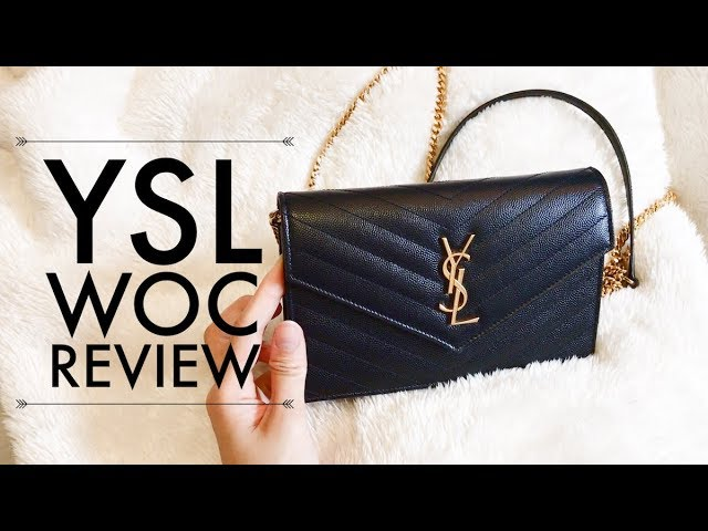 fd7e995c2 YSL Monogram Envelope Wallet on Chain REVIEW - With Loop Control ...