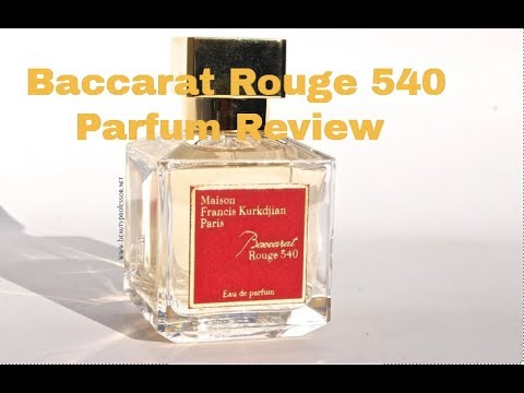 Baccarat Rouge 540 Edp Review Youtube