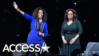 Michelle Obama Tells Oprah Barack Obama 'Gets That Ugly, Loud Cry' At Daughters' Milestone Moments