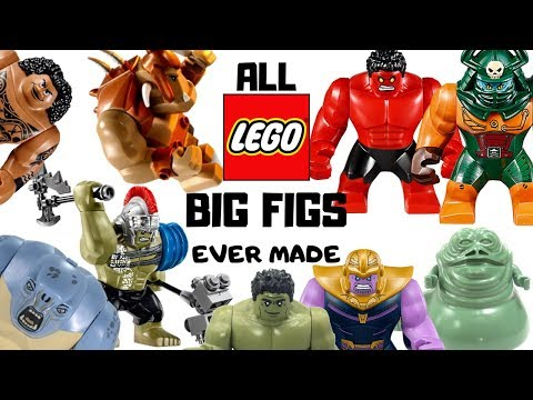 ALL Lego BIG FIGS Ever Made 1999 To 2019!