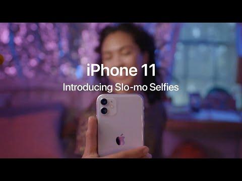 Apple iPhone 11 Slofies - Introducing Slowmo Selfies