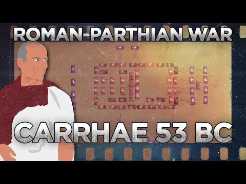 Carrhae 53 BC - Roman–Parthian War DOCUMENTARY