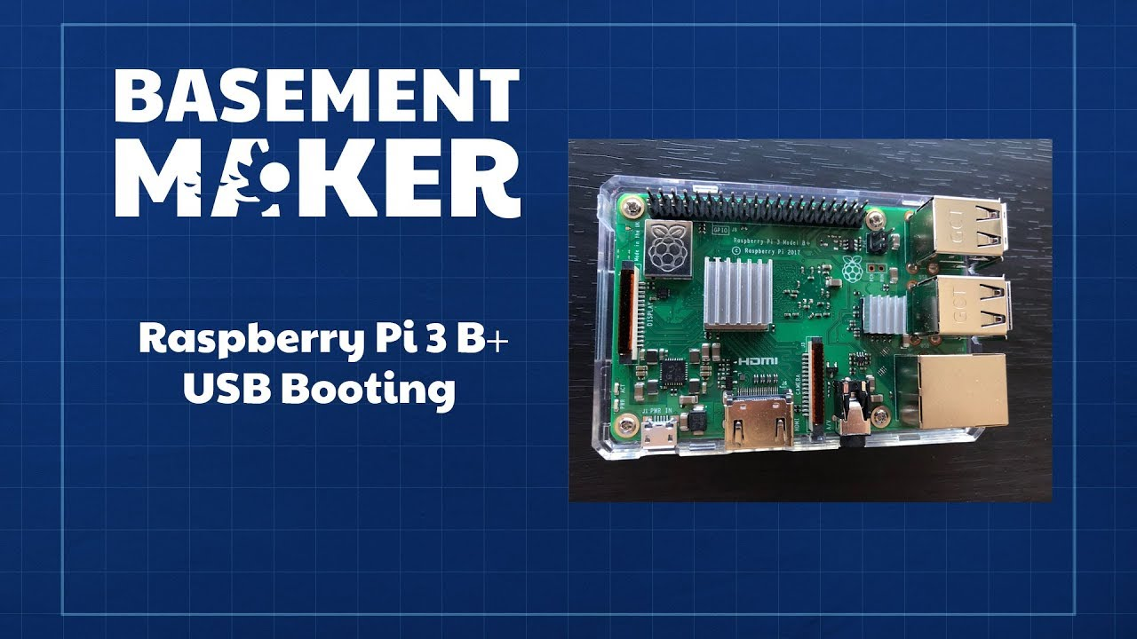 Raspberry Pi 3 B+ - USB Booting
