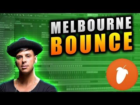 Professional Melbourne Bounce FLP Deorro,Timmy Trumpet, B3nte, VINAI & Galwaro Style |  FL Studio 12