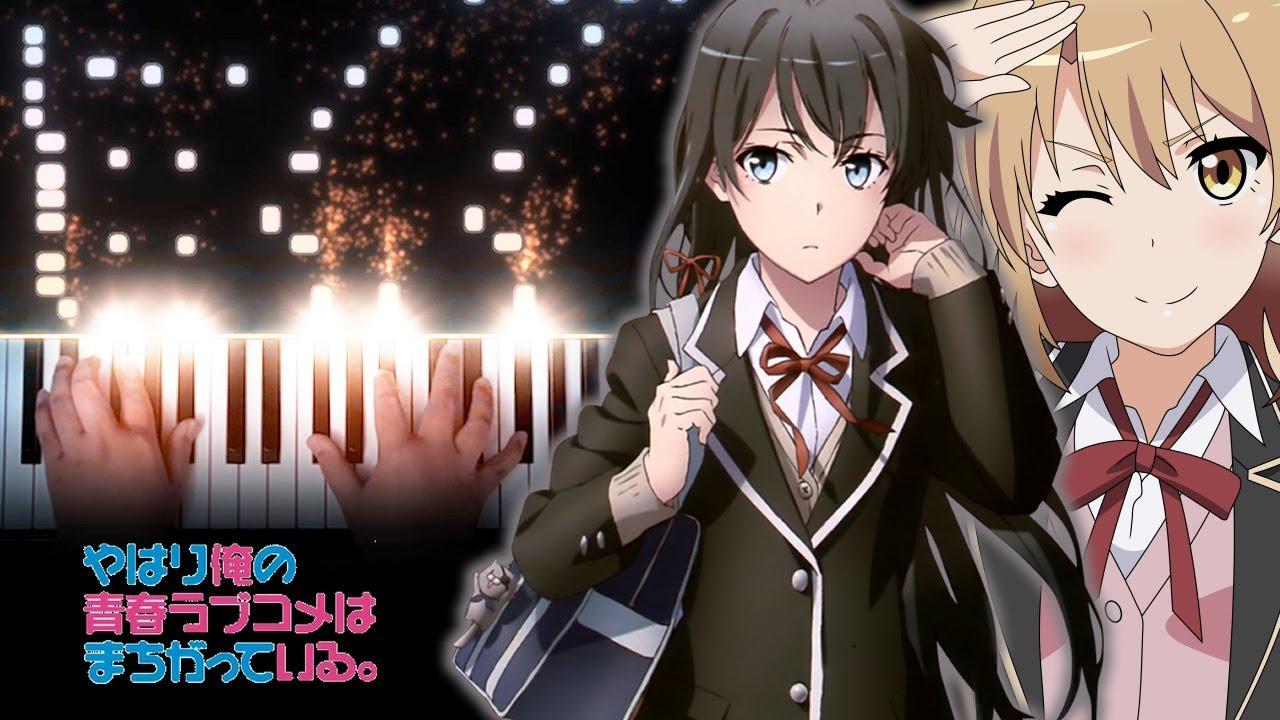 """OreGairu. Kan (SNAFU Season 3) OP - """"Megumi no Ame"""" - Nagi Yanagi (Piano)"""