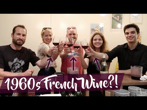 Taste-Testing REALLY Old French Wine
