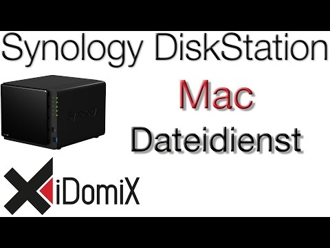 Synology DiskStation DSM 6 Mac Dateidienst einrichten
