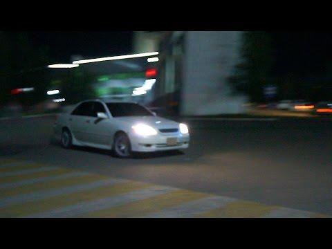 ночное движение видео