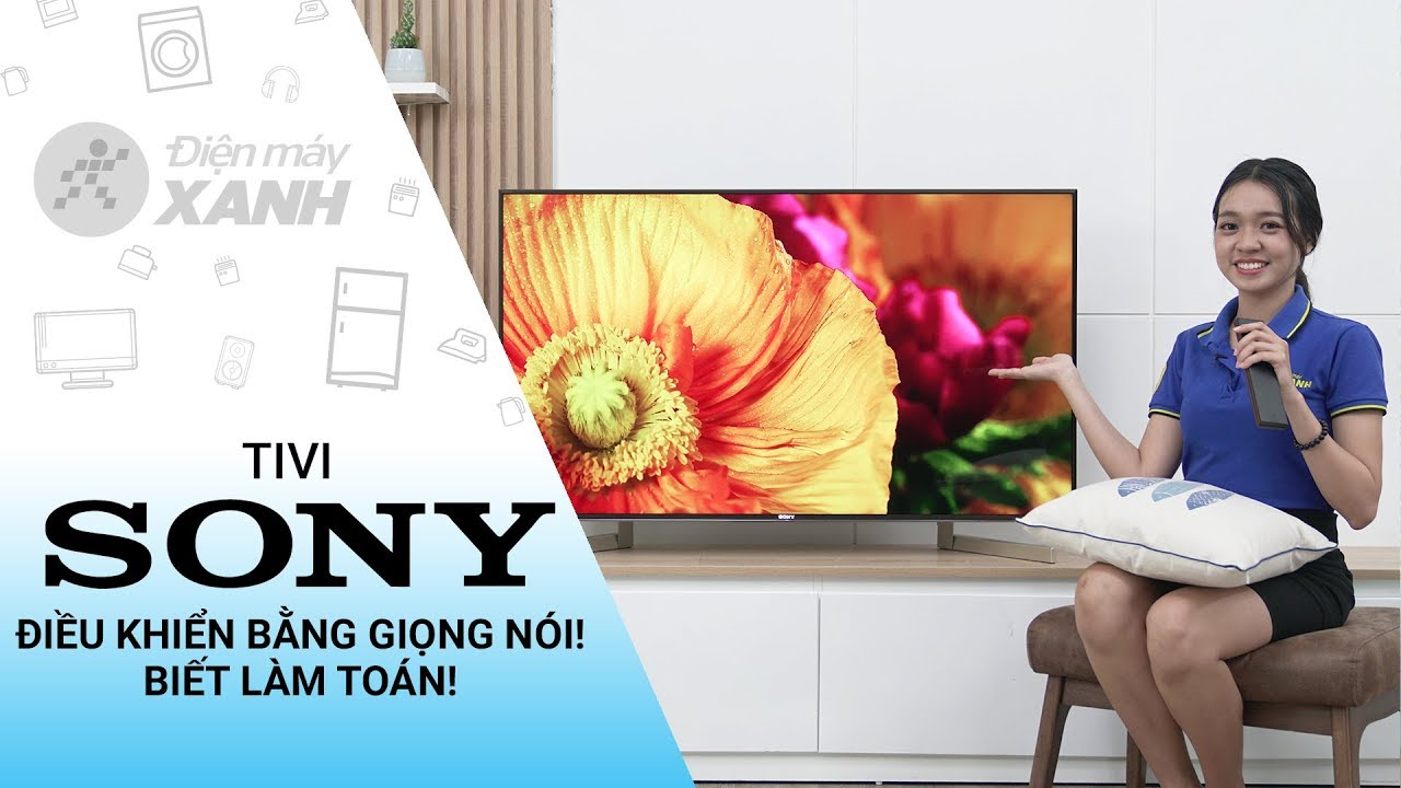 Dòng Android Tivi Sony 4K X9000F (49 inch, 55 inch, 65 inch, 85 inch)