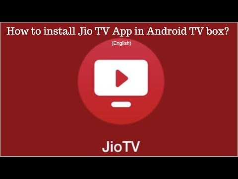How to install Jio TV App in Android TV box in English? - 동영상