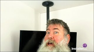 InstallerParts Episode 15 - Flat TV Ceiling Mount With Tilt And Swivel
