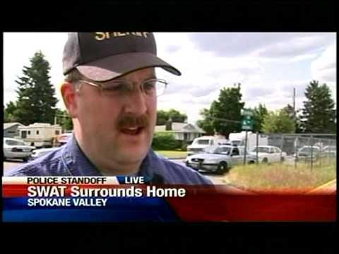 SWAT Team In Standoff At Spokane Valley Home