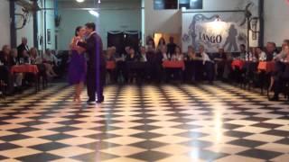 Sin Rumbo, bailan Daniel Juarez y Alejandra Armenti 3/4